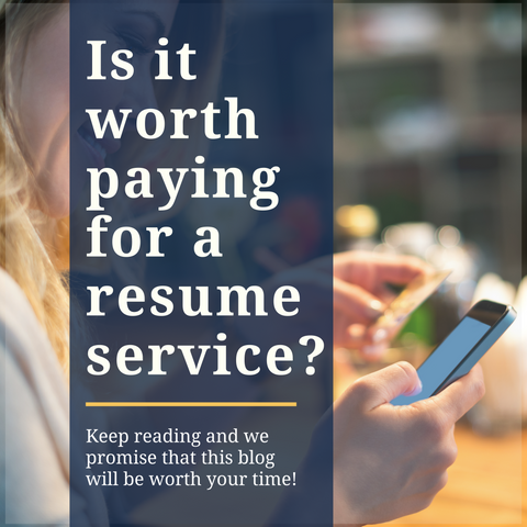 Is it worth paying for a resume service?