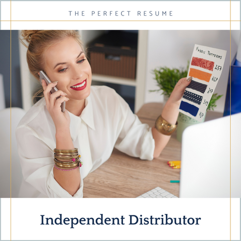 The Perfect Independent Distributor Resume Writing Tips