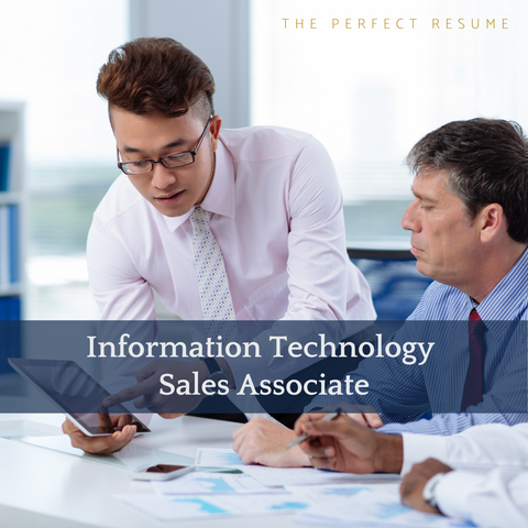 The Perfect Information Technology Sales Associate Resume Writing Tips