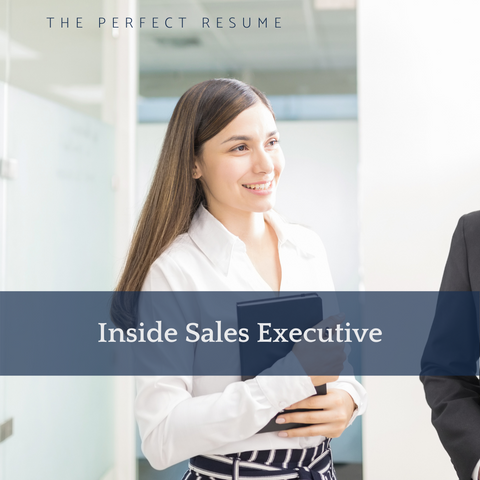 The Perfect Inside Sales Executive Resume Writing Tips