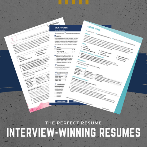 What are the examples of resumes that have landed an interview?