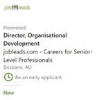 How To Use LinkedIn To Find A Job   Sample Job Ad