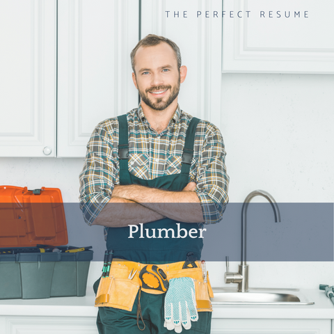 The Perfect Plumber Resume Writing Tips