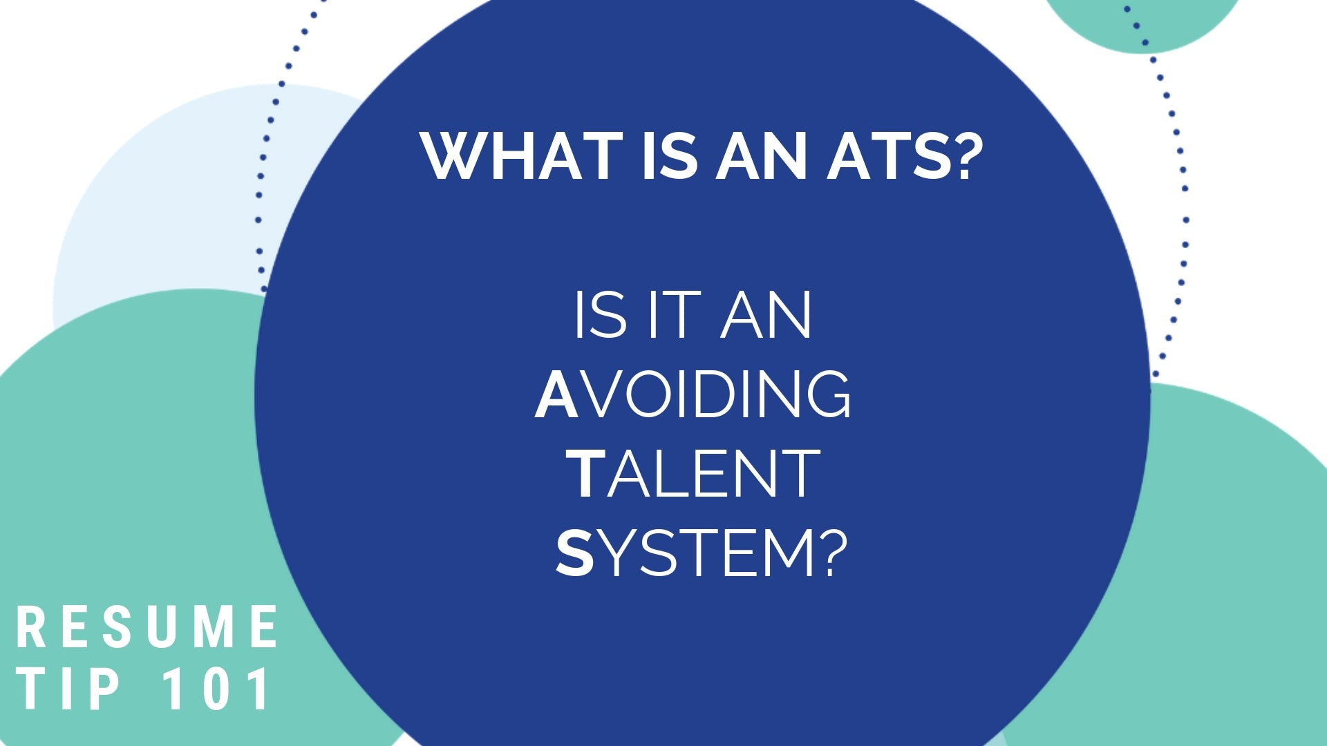 The Perfect Resume Applicant Tracking Systems (ATS)