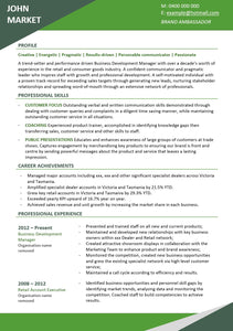 Resume Template | The Perfect Resume