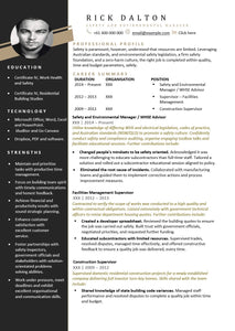 The Perfect Resume | Modern Resume Design