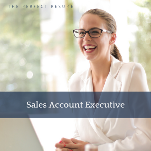 The Perfect Sales Account Executive Resume Writing Tips