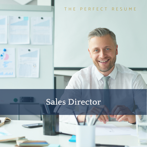 The Perfect Sales Director Resume Writing Tips