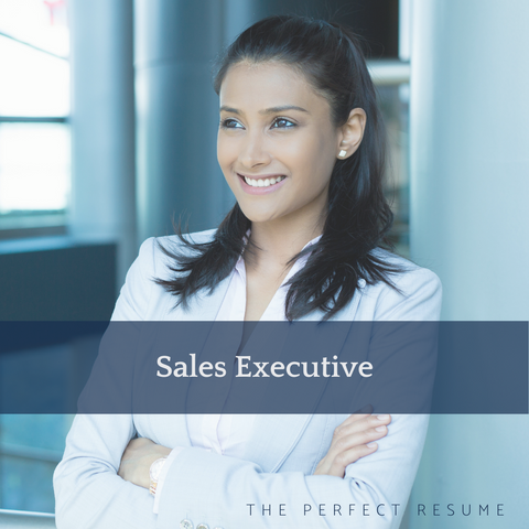 The Perfect Sales Executive Resume Writing Tips