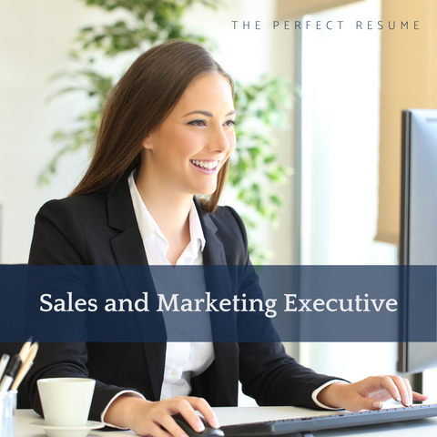 The Perfect Sales & Marketing Executive Resume Writing Tips