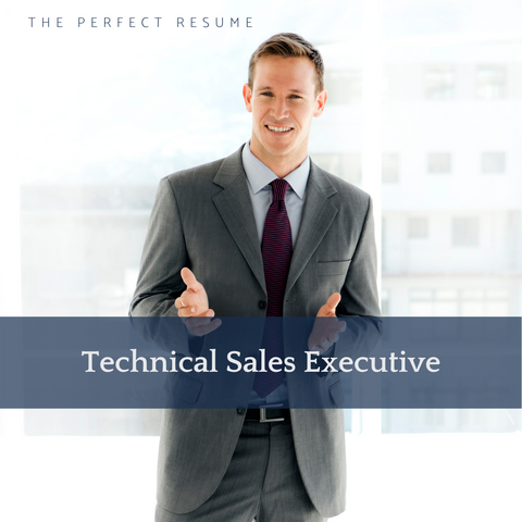 The Perfect Technical Sales Executive Resume Writing Tips