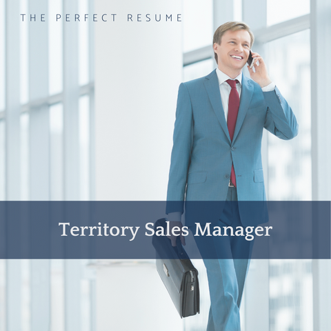 The Perfect Territory Sales Manager Resume Writing Tips