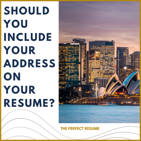 Should You Include Your Address On Your Resume