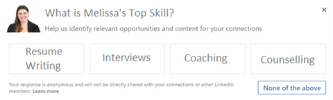 How to get your skills endorsed on LinkedIn?