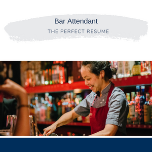 Bar Attendant Writing Services