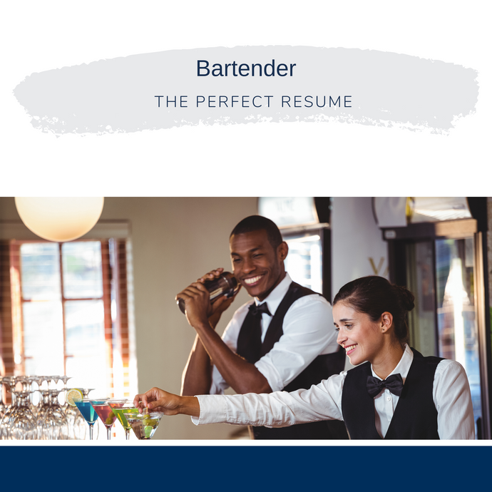 Bartender Resume Writing Services