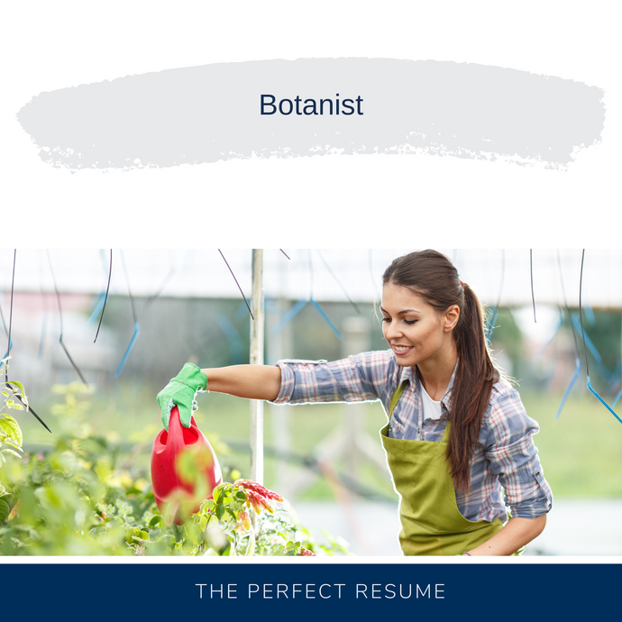 Botanist Resume Writing Services