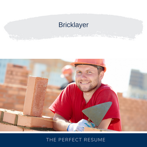 Bricklayer Resume Writing Services