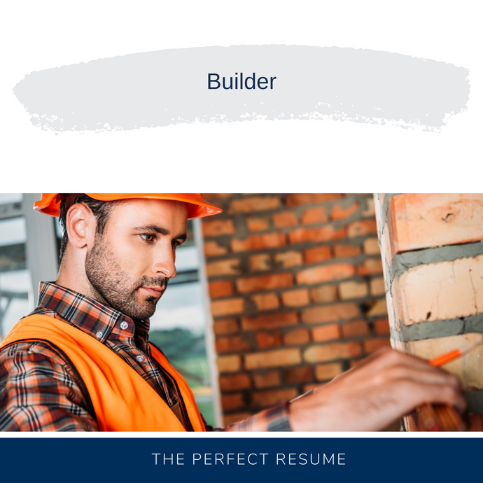 Builder Resume Writing Services