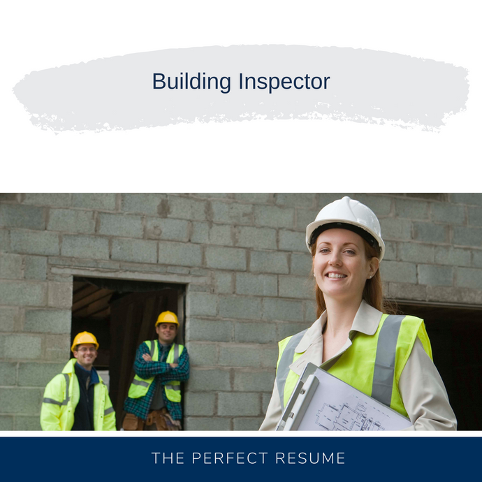 Building Inspector Resume Writing Services