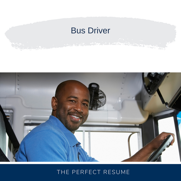 Bus Driver Resume Writing Services
