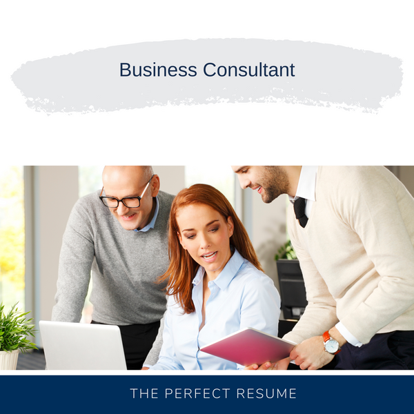 Business Consultant Resume Writing Services