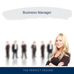 Business Manager Resume Writing Services