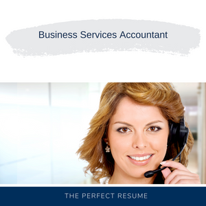 Business Services Accountant Resume Writing Services