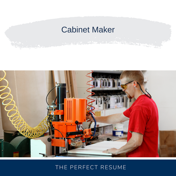Cabinet Maker Resume Writing Services