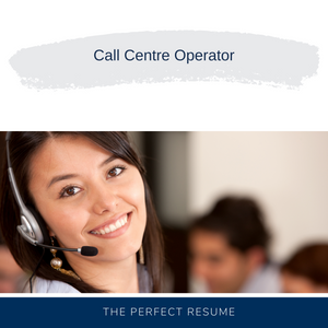Call Centre Operator Resume Writing Services