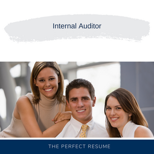 Internal Auditor Resume Writing Services