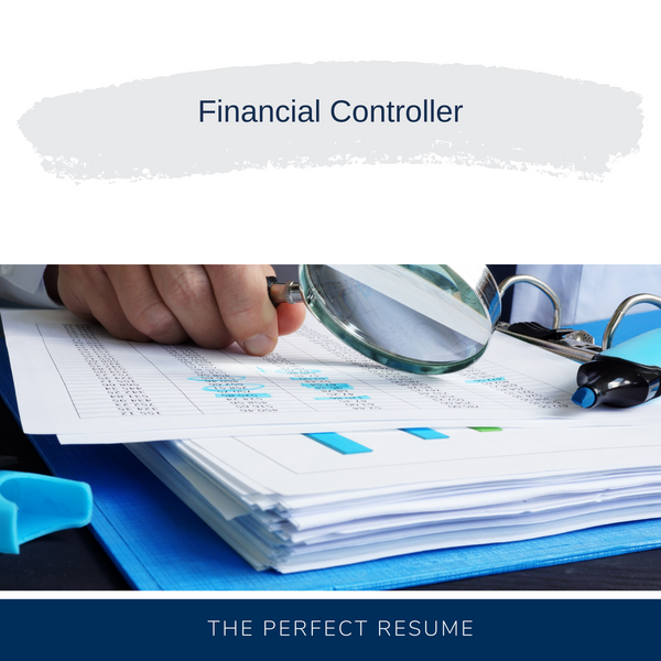 Financial Controller Resume Writing Services