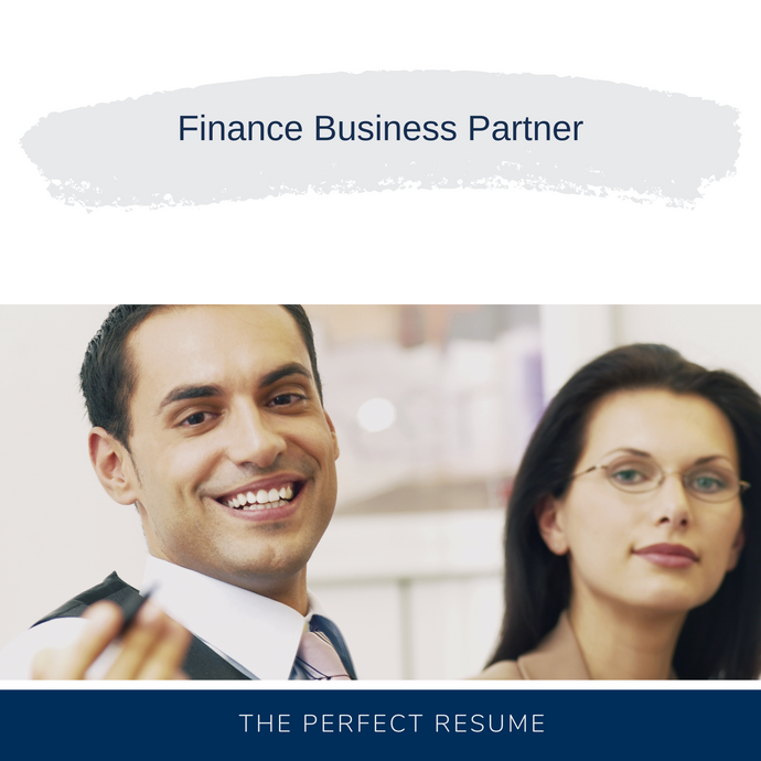 Finance Business Partner Resume Writing Services