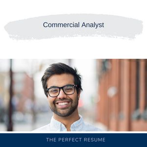 Commercial Analyst Resume Writing Services