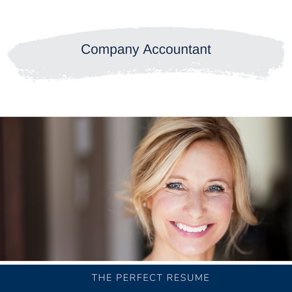 Company Accountant Resume Writing Services