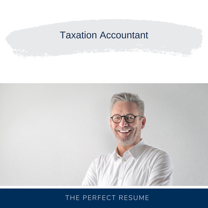 Taxation Accountant Resume Writing Services