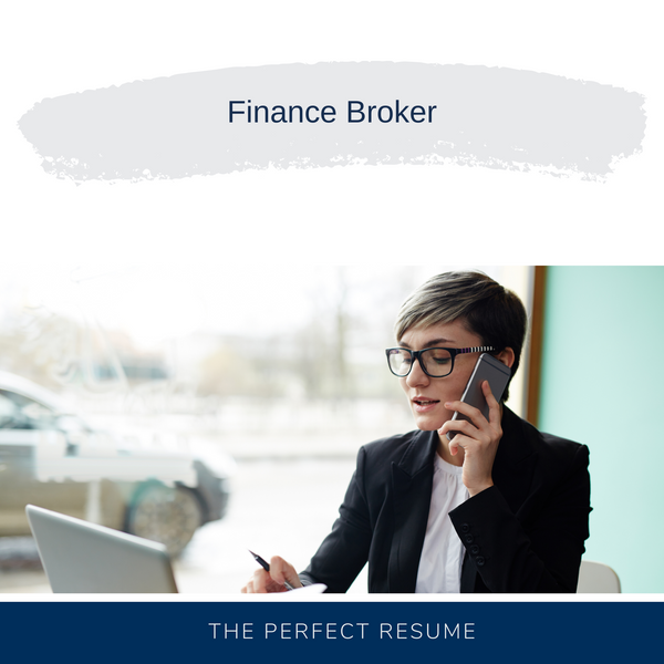 Finance Broker Resume Writing Services