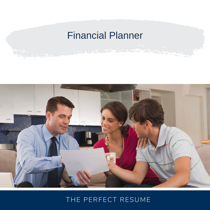 Financial Planner Resume Writing Services