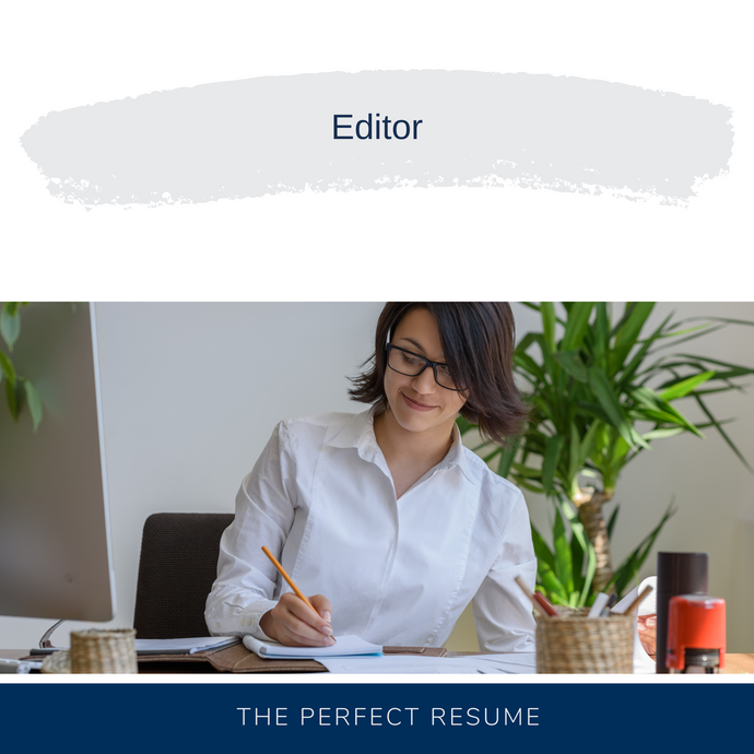 Editor Resume Writing Services
