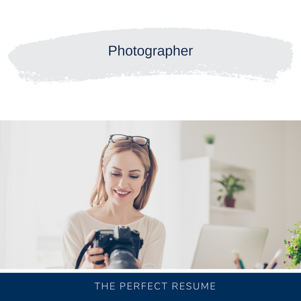Photographer Resume Writing Services