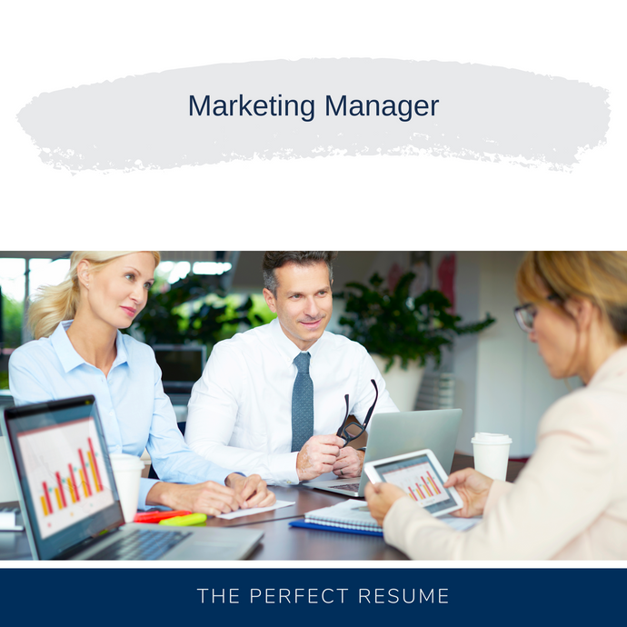 Marketing Manager Resume Writing Services