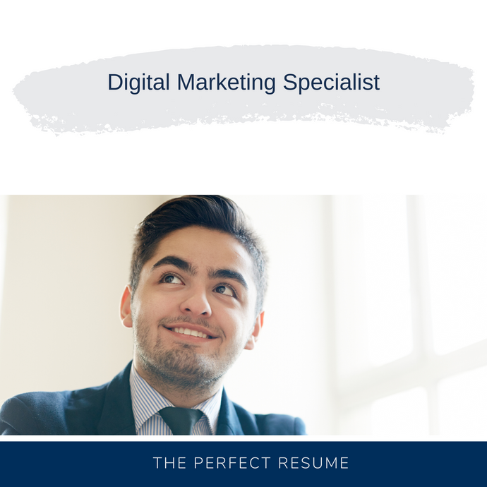 Digital Marketing Specialist Resume Writing Services
