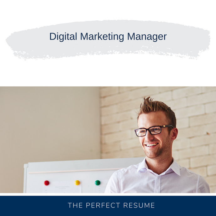 Digital Marketing Manager Resume Writing Services
