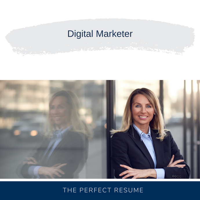 Digital Marketer Resume Writing Services