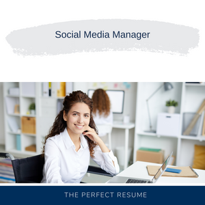 Social Media Manager Resume Writing Services