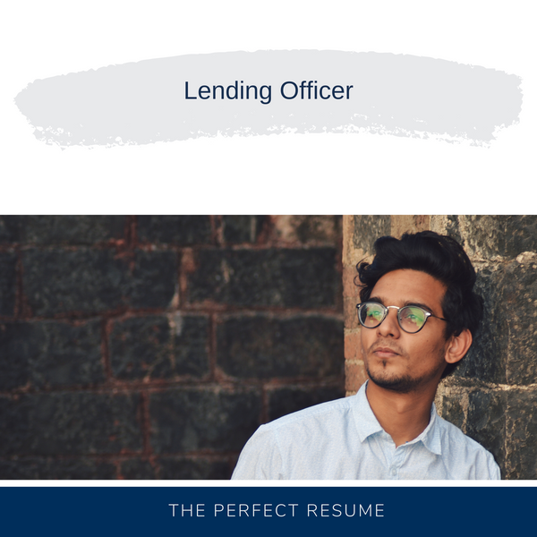 Lending Officer Resume Writing Services