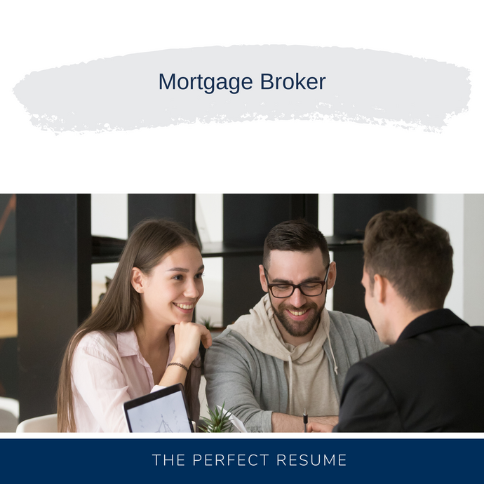 Mortgage Broker Resume Writing Services