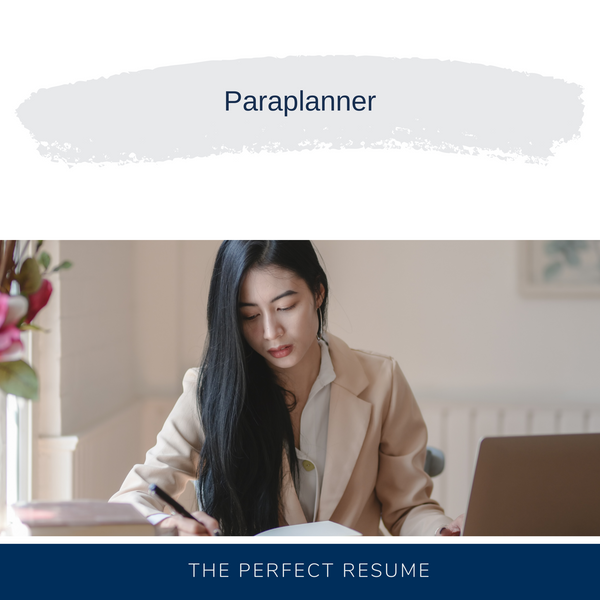 Paraplanner Resume Writing Services