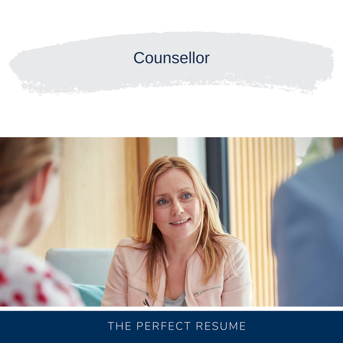 Counsellor Resume Writing Services