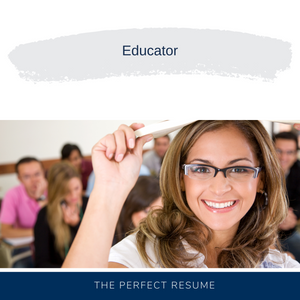 Educator Resume Writing Services